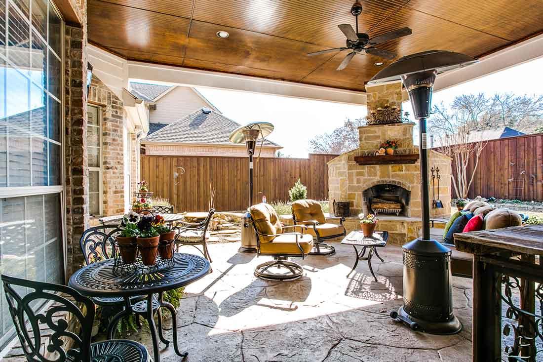Exteriors Porch Plano Texas 1